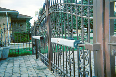 automatic door, fence, iron working, Porfi Iron Works